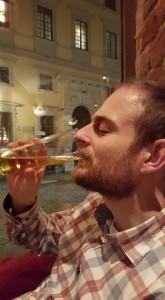 Dricker alkoholfri öl